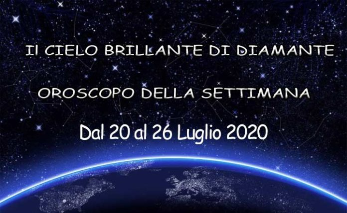 Oroscopo della settimana dal 20 al 26 luglio 2020