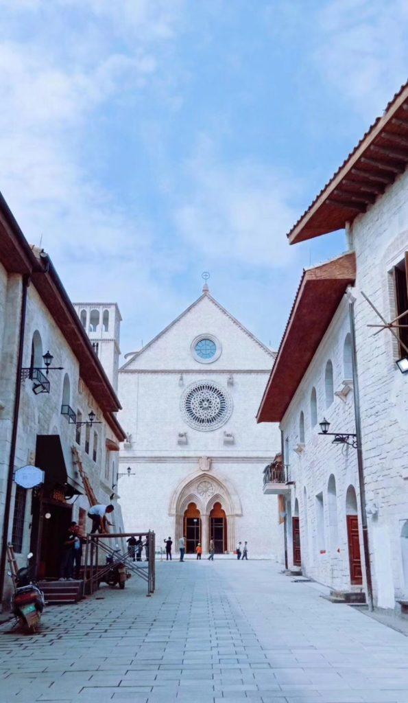 Scorcio Assisi in scala 1/1