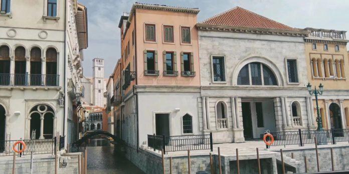 Venezia in scala 1/1