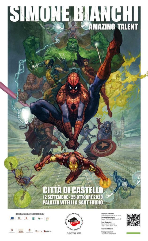 Locandina Tiferno Comics 2020
