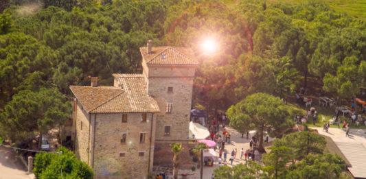 Torre Goretti dall'alto