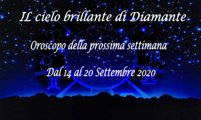 Oroscopo della prossima settimana dal 14 al 22 settembre 2020
