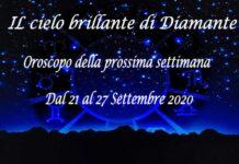 Oroscopo della prossima settimana dal 21 al 27 Settembre 2020