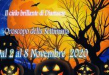 oroscopo della prossima settimana dal 2 al 8 Novembre 2020