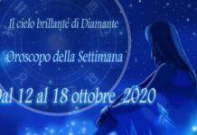 Oroscopo della prossima settimana dal 12 al 18 ottobre 2020