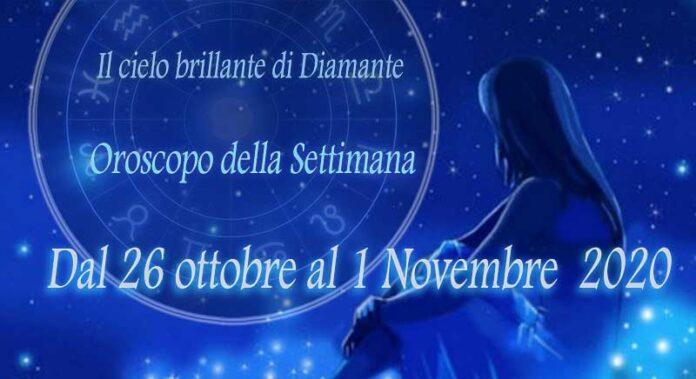 Oroscopo della prossima settimana dal 26 ottobre al 1 novembre 2020