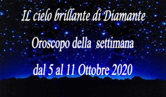 oroscopo della prossima settimana dal 5 al 11 ottobre 2020
