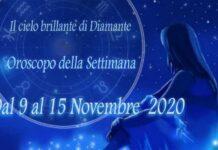 oroscopo della prossima settimana dal 9 al 15 novembre