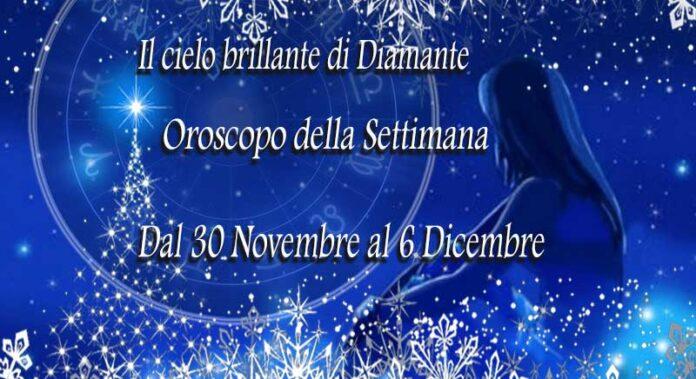Oroscopo prossima settimana dal 30 Novembre al 6 Dicembre 2020