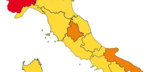 Umbria regione arancione