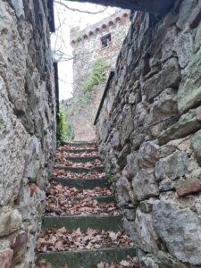 Uno scorcio della Rocca