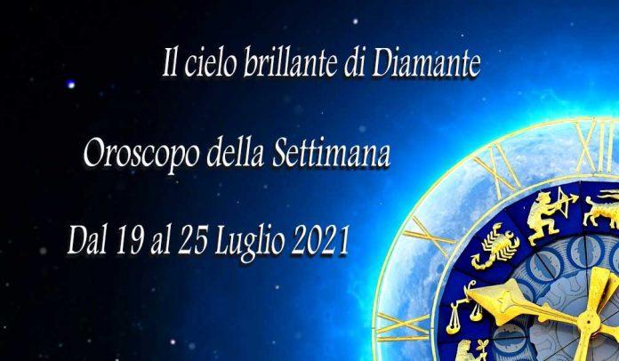 Oroscopo della prossima settimana dal 19 al 25 luglio 2021